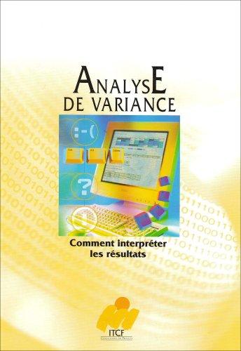 Comment interpreter les résultats d'une analyse de variance ?