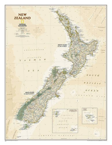 National Geographic New Zealand Executive Map