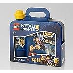 Lego Tablet Bag Vline Nexo Knights Borsa Messenger, 27 cm, 2 liters, Blu (Azul)  LEGO
