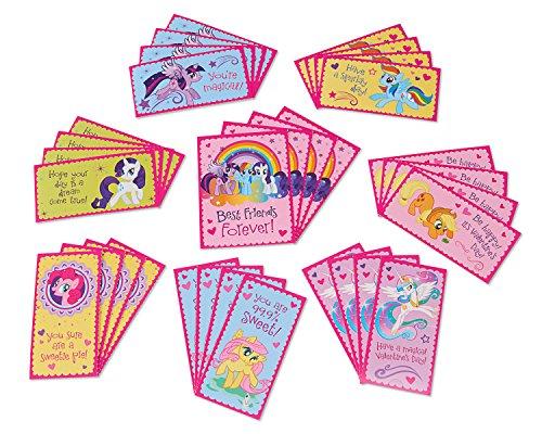 American Greetings My Little Pony Valentine 's Day Exchange Karten, 32Zählen (Karten Die Valentine Schule Für)