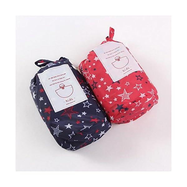 Niños Ponchos lluvia Outwear abrigo impermeable ropa de deportes al aire libre ropa Rainwear 4