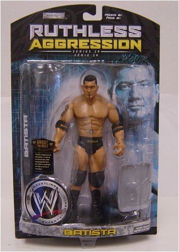 WWE Wrestling Spietato Aggression Serie 29 Action Figure Batista by Jakks