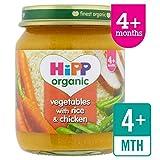 HiPP Bio-Gemüse mit Reis & Chicken 125g