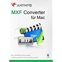 AnyMP4 MXF Converter für Mac Lifetime License - MXF in MP4, MOV, AVI, MP3 und andere Video/Audioformate auf Mac umwandeln [Download]