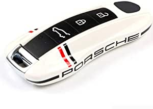 Abdeckung Für Autoschlüssel Schlüsselaustausch Schlüssel Shell Fall Abdeckung Für Porsche 911 Und Boxster Cayman 718 Cayenne Panamera Macan Elegantes Aussehen Leicht Zu Reinigen Zwei Stile B New Sport Freizeit