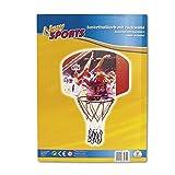 The Toy Company New Sports 63082 86090/E030A - Basketballboard, Länge 60 x B 45 cm, 35 cm Durchmesser