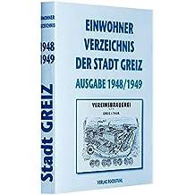 Einwohnerbuch der Stadt Greiz 1948/49