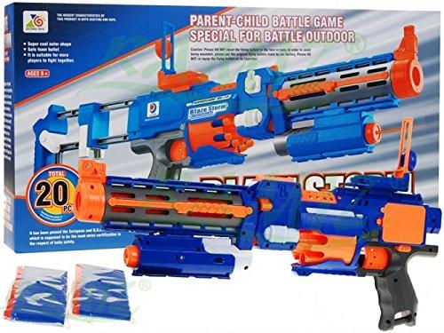 Blaze Storm Barircacede RV-10 - Spielzeug Blaster - Blau