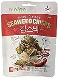BIBIGO Seetang-Reis-Chips, scharf, 5er Pack (5 x 20 g)