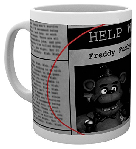 GB Eye LTD, Five Nights at Freddys, Help Wanted, Mug