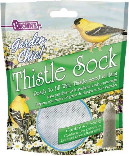 F.M. Brown's Garden Chic Thistle Socks, 2-Pack
