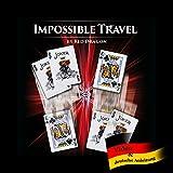 Impossible Travel, Drei-Karten-Platztausch, Extrem visueller Zaubertrick, Transposition Cards, Zauberartikel, Switch