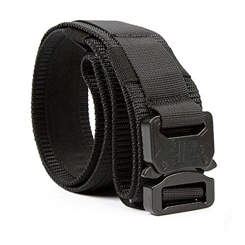 Yisibo Cinturón Táctico Militar Estilo 1.5 Pulgadas Hombres/Mujeres Cinturones Cinturón de Cintura...