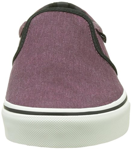Vans Herren Mn Asher Sneakers Rot (Washed Canvas)