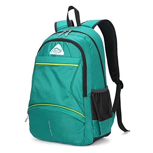 MJ Damen Bergsteigen Tasche / Outdoor Reise Rucksack / Reisen Bergsteigen Rucksack / Männer und Frauen Outdoor-Rucksack Green
