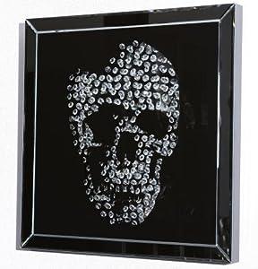 Unbekannt Diamond Skull Espejo Calavera