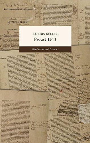Buchseite und Rezensionen zu 'Proust 1913' von Luzius Keller