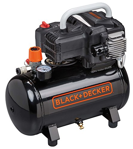 Black&Decker NKBN304BND309 Compresseur portatif, 1100 W, 230 V, Noir meilleur compresseur d'air - 51hk89Ww76L - Meilleur compresseur d'air a acheter en 2019 pour votre Atelier [Comparatif]