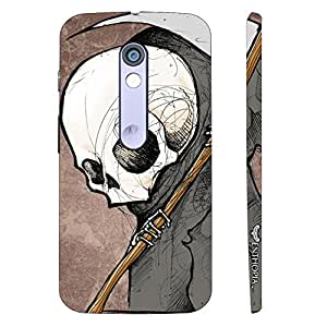 Motorola Moto X Play I'LL BE WATCHING! designer mobile hard shell case by Enthopia
