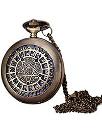 Alivier Reloj de Bolsillo con Forma de Collar Reloj de Bolsillo con Correa para Mujer
