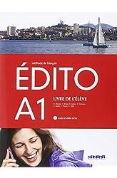 Descargar gratis EDITO A1 ELEVE+CD+DVD - 9788490491928 en .epub, .pdf o .mobi