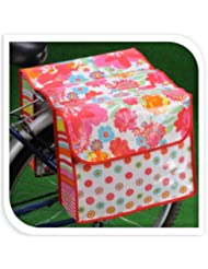 Tamaño grande para bicicleta alforjas para moto portabicicletas estante de almacenamiento organizador