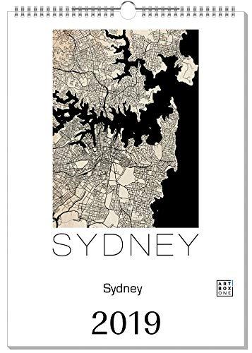 artboxONE Kalender 2019 Sydney Wandkalender A2 Städte/Sydney