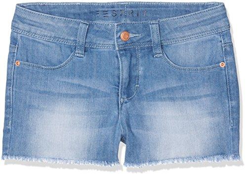 ESPRIT Mädchen Shorts RJ26075, Blau (Bleached Denim 413), 146