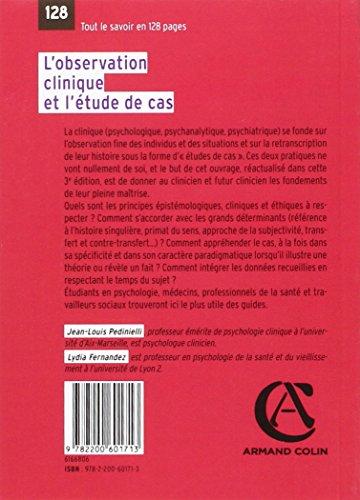L'observation clinique et l'étude de cas - 3e éd.