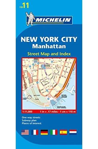 Descargar gratis Plano Plegable New York City, Manhattan de Varios Autores