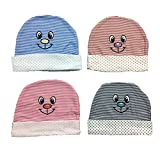 EIO Premium Quality Baby Caps 4 Piece se...