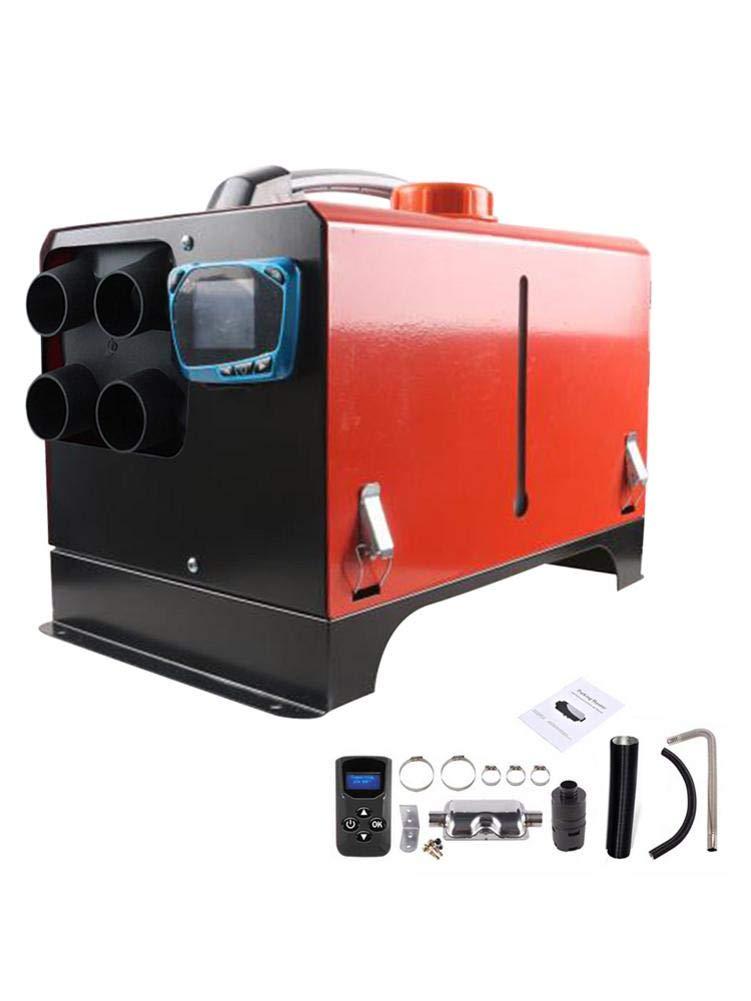Blue-Yan Calentador De Aire De Temperatura Ajustable De Combustible De Estacionamiento De 5KW 12V / 24V, Calentador De… 1