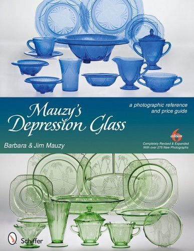 Mauzy's Depression Glass: A Photographic Reference with Prices by Barbara Mauzy (2009-06-01)