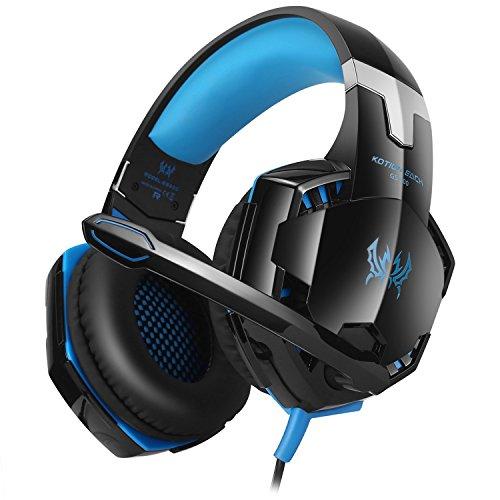 Cuffie-per-XBOX-360-PS3-PS4-PC-Cellulari-e-Tablet-EasySMX-GS600-Multifunzione-col-Microfono-Direzionabile
