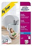Avery Zweckform MD3003 Keramik-Dekofolie (A4, 210 x 297 mm) 2 Blatt