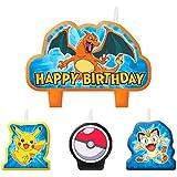 Pokemon Lot de 4bougies