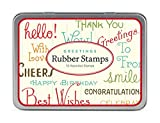 Cavallini Papers & Co Rubber Stamp Set G...