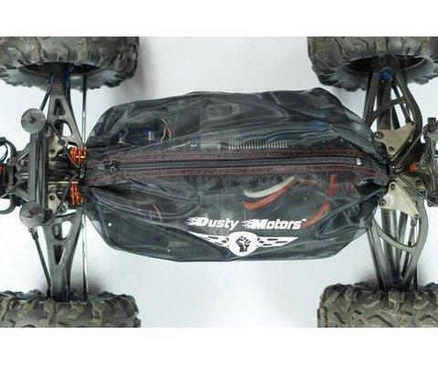 Preisvergleich Produktbild Dusty Motors Shroud HPI Trophy Truggy Flux H107018 Dreckschutz schwarz by mobo racing