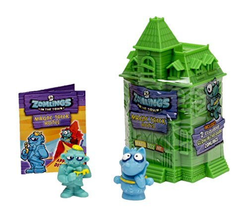 Zomlings Magic - 2 Figures & Magic Trick Hotel (Series 1) by Zomlings