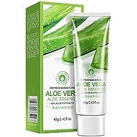 LUFA 40 g Gel de Aloe Vera Hidratante Facial Anti arrugas crema para el acné de la espinilla del Blanqueamiento de protección solar Loción Tratamiento