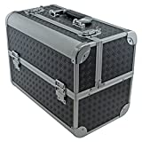 SRA Cases EN-AC-FC-B086-BK Toolbox, Fishing Tackle/Bait Case with Fold Out...
