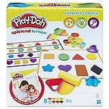 Play-Doh Form und Lernen Farben und Formen