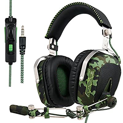 Sades Pro Surround Sound stereo PC Gaming Headset cuffie con microfono per PS4 Xbox 360 PC MAC iPhone Smart Phone