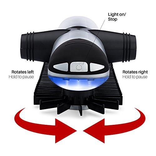 Sterline Automático Motorizado Eléctrico Corbatero Para Corbata Y Cinturónes Con Luz LED, Almacena 72 Corbatas Y 8 Cinturones, Las Baterías Están Incluidas
