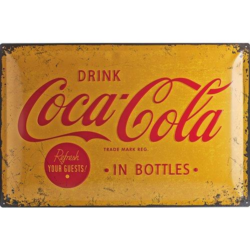 nostalgic-art-24007-coca-cola-yellow-logo-targa-in-metallo-metallo-multicolore-40-x-60-x-02-cm