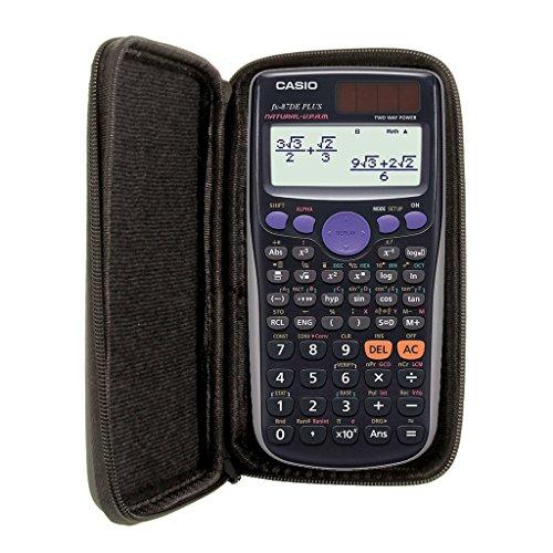 SafeCase Schutztasche für Taschenrechner von Casio, für Modell: FX 87 DE Plus - Teilen Taschenrechner