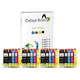 20 XL (4 Sets) Colour Direct kompatibel Tintenpatronen Ersatz für Epson Expression Premium XP-510 XP-520 XP-600 XP-605 XP-610 XP-615 XP-620 XP-625 XP-700 XP-710 XP-720 XP-800 XP-810 XP-820 Drucker. - 26 XL