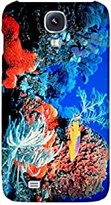 Timpax protective Armor Hard Bumper Back Case Cover. Multicolor printed on 3 Dimensional case with latest & finest graphic design art. Compatible with Samsung I9500 Galaxy S4 Design No : TDZ-25908