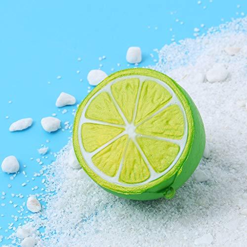 sam Dekompression Creme Duftenden Groß Squishy Spielzeug Squeeze Spielzeug,Squishies Entzückende Zitronen-Slow Rising Cream Squeeze duftende Stressabbau-Spielzeuge ()