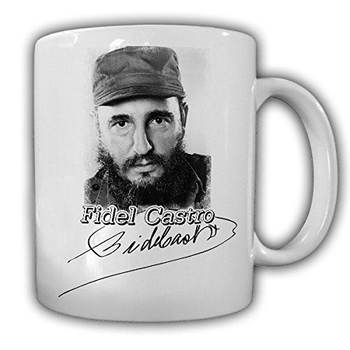 Fidel Castro Unterschrift Máximo Líder Kuba viva Revolutions kubanischer Revolutionär Revolution...